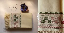 Aghan | अगहन ⁂ Bavaliyo Embroidery ⁂ Merino Wool Stole ⁂ 13
