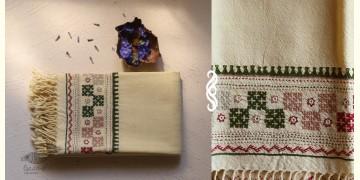 अगहन ⁂ Bavaliyo Embroidery ⁂ Merino Wool Stole ⁂ 13