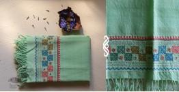 Aghan | अगहन ⁂ Bavaliyo Embroidery ⁂ Merino Wool Stole ⁂ 14