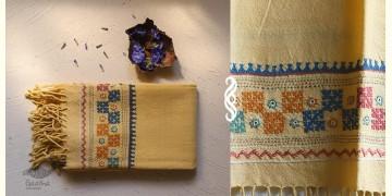 अगहन ⁂ Bavaliyo Embroidery ⁂ Merino Wool Stole ⁂ 15
