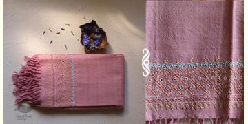 अगहन ⁂ Khandhiro Embroidery ⁂ Merino Wool Stole ⁂ 6