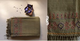 Aghan | अगहन ⁂ Kharek Embroidery ⁂ Merino Wool Stole ⁂ 9