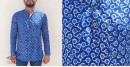 अमोल ● Handwoven   Dabu Printed ●  Cotton short kurta ● J