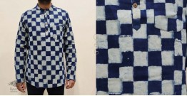 अमोल ● Handwoven | Dabu Printed ●  Cotton short kurta ● K