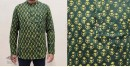 अमोल ● Handwoven | Dabu Printed ●  Cotton short kurta ● M