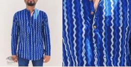 अमोल ● Handwoven | Dabu Printed ●  Cotton short kurta ● C
