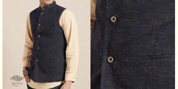 Ekansh ✫ Handwoven Cotton Sadri / Jacket ✫ 3