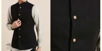 Ekansh ✫ Handwoven Cotton Sadri / Jacket ✫ 9
