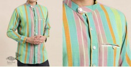 Ekansh ✫ Handwoven Cotton Shirt ✫ 14