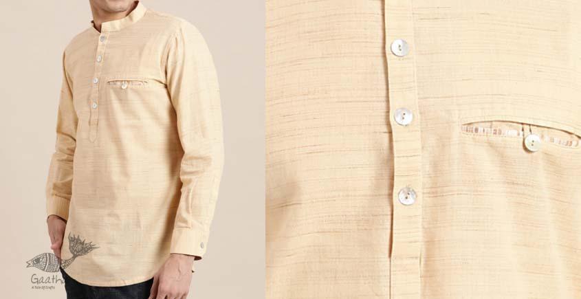 shop online hanloom cotton men shirt