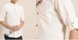 Ekansh ✫ Handwoven Cotton Shirt ✫ 6