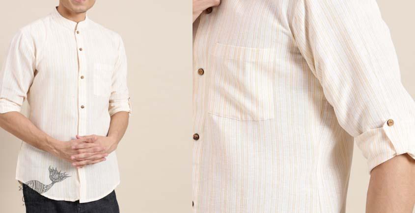 shop online cotton men shirt