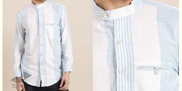 Ekansh ✫ Handwoven Cotton Shirt ✫ 7