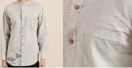 Ekansh ✫ Handwoven Cotton Shirt ✫ 8