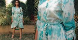 Zen ❁ Tie & Dye ❁ Handwoven Cotton Dress ❁ 15