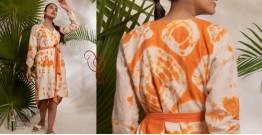 Zen ❁ Tie & Dye ❁ Handwoven Cotton Dress ❁ 5