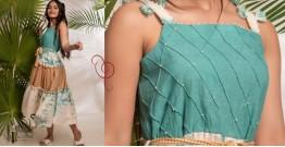 Zen ❁ Tie & Dye ❁ Handwoven Cotton Dress ❁ 6