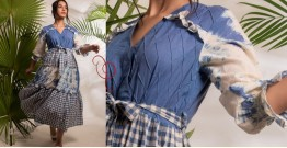 Zen ❁ Tie & Dye ❁ Handwoven Cotton Dress ❁ 8