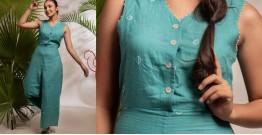 Zen ❁ Tie & Dye ❁ Handwoven Cotton Jumpsuit ❁ 4