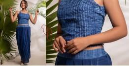 Zen ❁ Tie & Dye ❁ Handwoven Cotton Top & Long Skirt ❁ 9