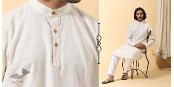 Ekansh ✫ Handwoven Cotton Long Kurta ✫ 21