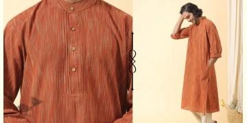 Ekansh ✫ Handwoven Cotton Long Kurta ✫ 25