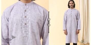 Ekansh ✫ Handwoven Cotton Long Kurta ✫ 35