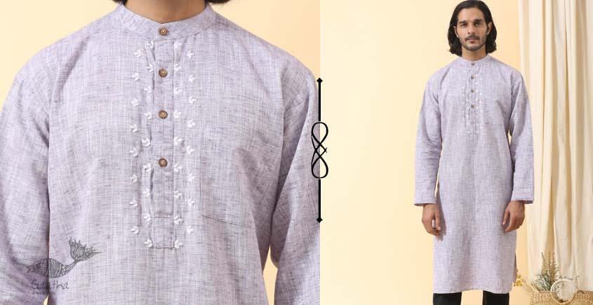 shop online Handwoven Cotton men Long Kurta