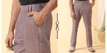Ekansh ✫ Handwoven Cotton Men's Trousers ✫ 40
