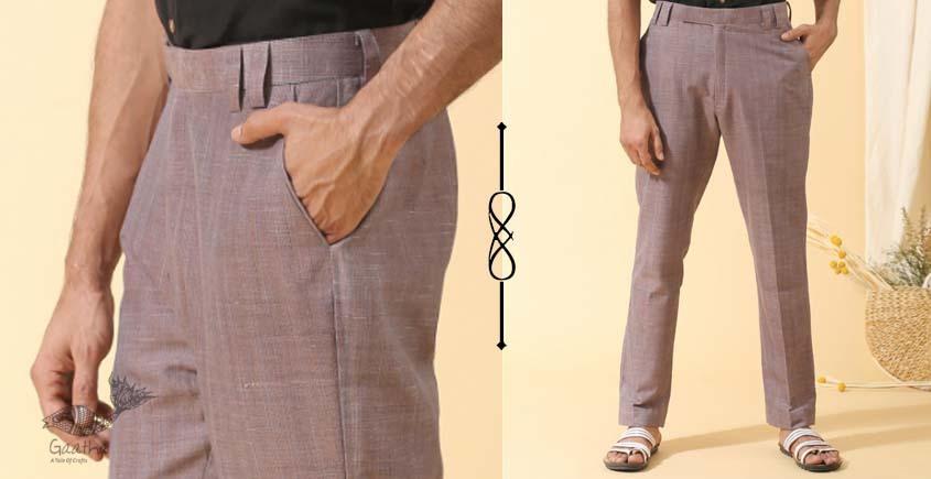 shop online Handwoven cotton Men's Trousers