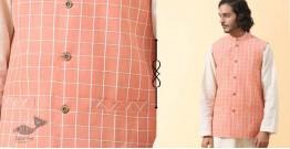 Ekansh ✫ Handwoven Cotton Sadri / Jacket ✫ 23