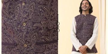 Ekansh ✫ Handwoven Cotton Sadri / Jacket ✫ 24