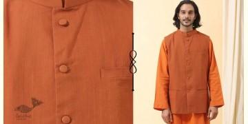 Ekansh ✫ Handwoven Cotton Sadri / Jacket ✫ 30