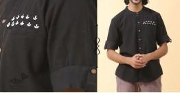 Ekansh ✫ Handwoven Cotton Shirt ✫ 31
