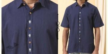 Ekansh ✫ Handwoven Cotton Shirt ✫ 42
