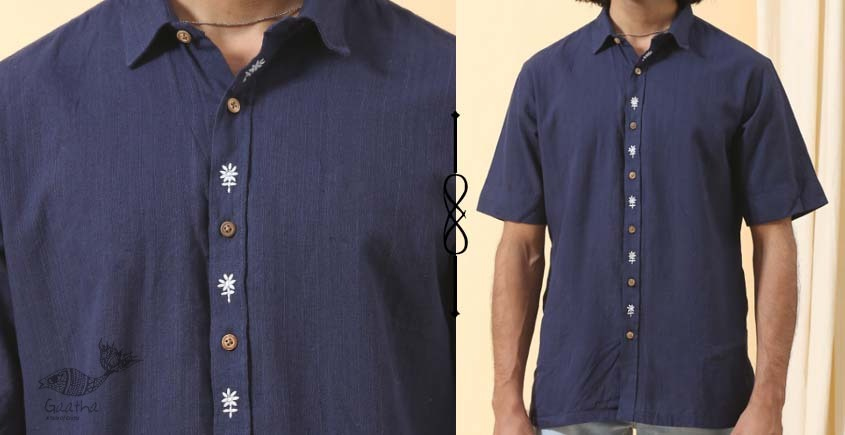 shop online Handwoven cotton men shirt