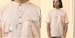 Ekansh ✫ Handwoven Cotton Short Kurta ✫ 36