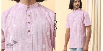 Ekansh ✫ Handwoven Cotton Short Kurta ✫ 38