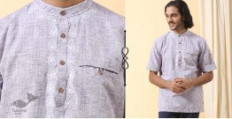 Ekansh ✫ Handwoven Cotton Short Kurta ✫ 41