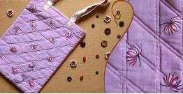 बहार ❣ Handwoven Cotton ❣ Painted Handbag ❣ 12