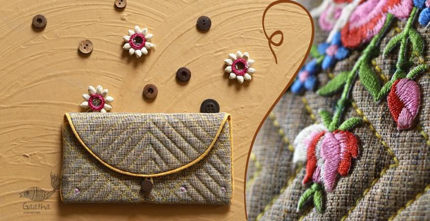 बहार ❣ Handwoven Cotton ❣ Spectacle Pouch ❣ 3