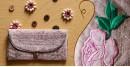 बहार ❣ Handwoven Cotton ❣ Spectacle Pouch ❣ 4