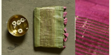 कुमुद ❂ Handwoven Silk Saree ❂ 1