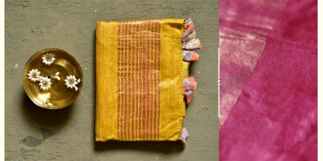 कुमुद ❂ Handwoven Silk Saree ❂ 3
