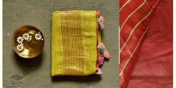 कुमुद ❂ Handwoven Silk Saree ❂ 5