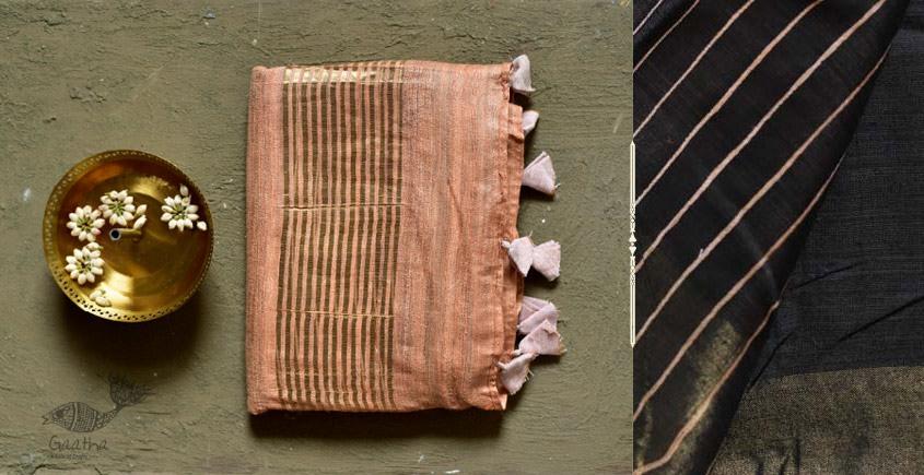 कुमुद ❂ Handwoven Silk Saree ❂ 7