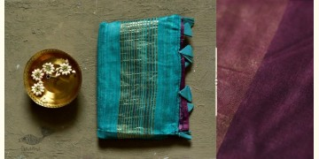 कुमुद ❂ Handwoven Silk Saree ❂ 8