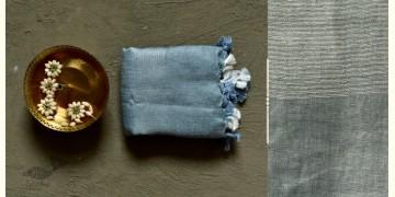 कुमुद ❂ Handwoven Linen Dupatta ~ A