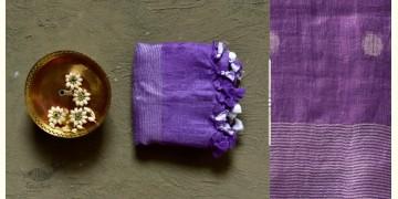 कुमुद ❂ Handwoven Linen Dupatta ~ C