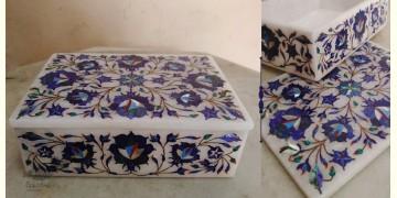 तराश ☘ Pacchikari (Inlay) Marble Box ☘ 21